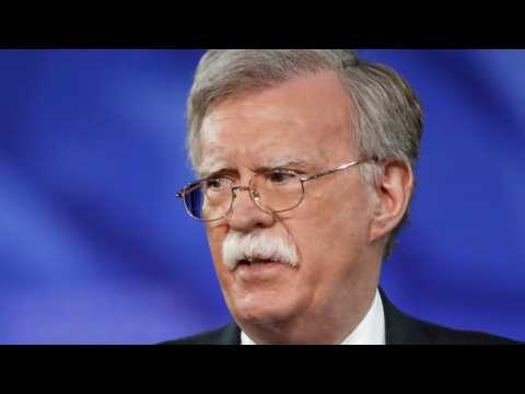 Super-Hawk John Bolton Swoops Into Oval Office