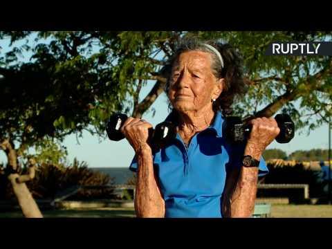 83yo Grandma Training to Conquer Aconcagua, Highest Mountain in Americas