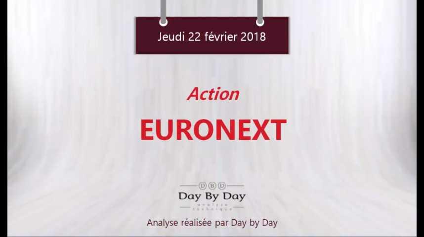 Illustration pour la vidéo Action Euronext : nouveau plus haut historique - Flash analyse IG 22.02.2018