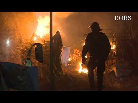 Bure : l'opération d'évacuation de la ZAD filmée par la gendarmerie