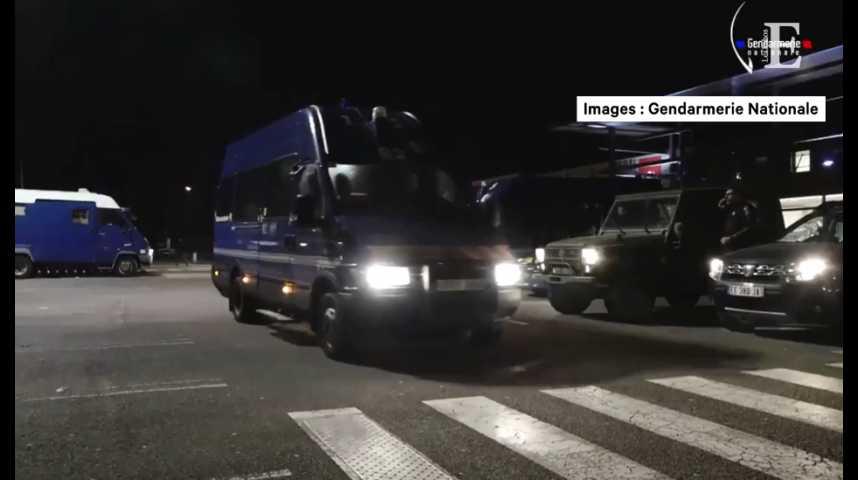 Illustration pour la vidéo Bure : la Gendarmerie diffuse les images de l'évacuation de la ZAD