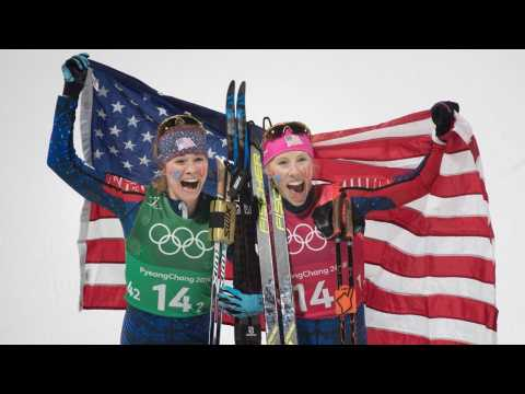 Team USA's Only Mother, Kikkan Randall, Wins Gold in Cross Country Skiing
