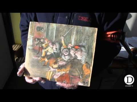 Degas painting stolen in 2009 found on bus near Paris