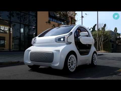 Cette voiture électrique imprimée en 3D pourra être produite en 3 jours