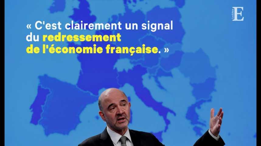 Illustration pour la vidéo Pierre Moscovici : « La France s'améliore, l'Allemagne ne bouge pas »