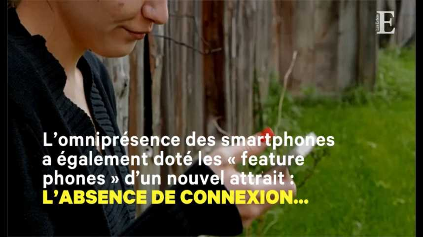 Illustration pour la vidéo Le « téléphone idiot » est-il l'avenir du smartphone ?