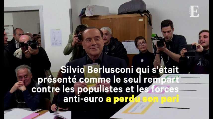 Illustration pour la vidéo L'Italie dans le flou après le raz-de-marée des anti-système aux élections