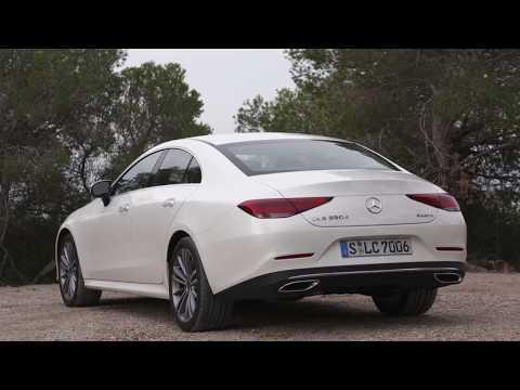 Mercedes-Benz CLS 350 d 4MATIC in White bright Exterior Design