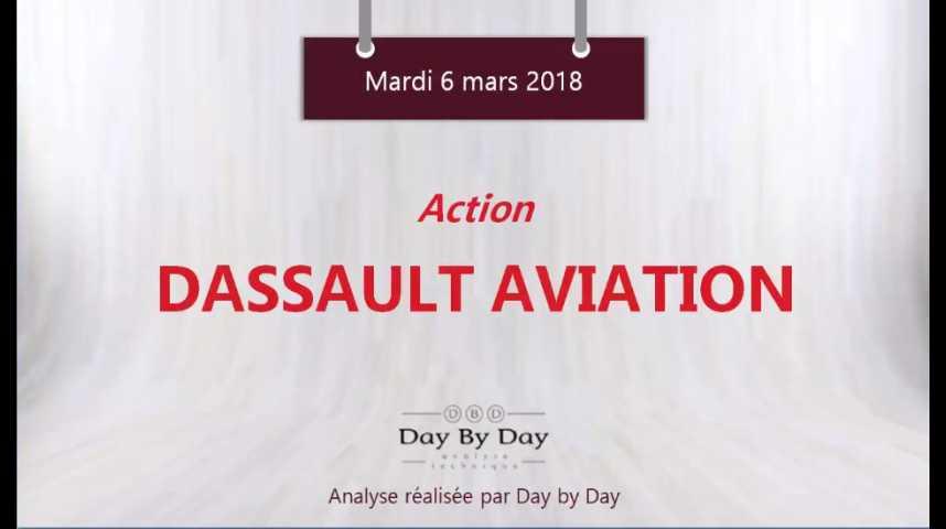 Illustration pour la vidéo Action Dassault Aviation : les 1505€ en ligne de mire - Flash Analyse IG 06.03.2018
