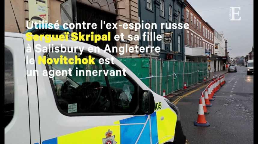 """Illustration pour la vidéo Qu'est-ce que le """"Novitchok"""", ce poison à l'origine de la crise entre Londres et Moscou"""