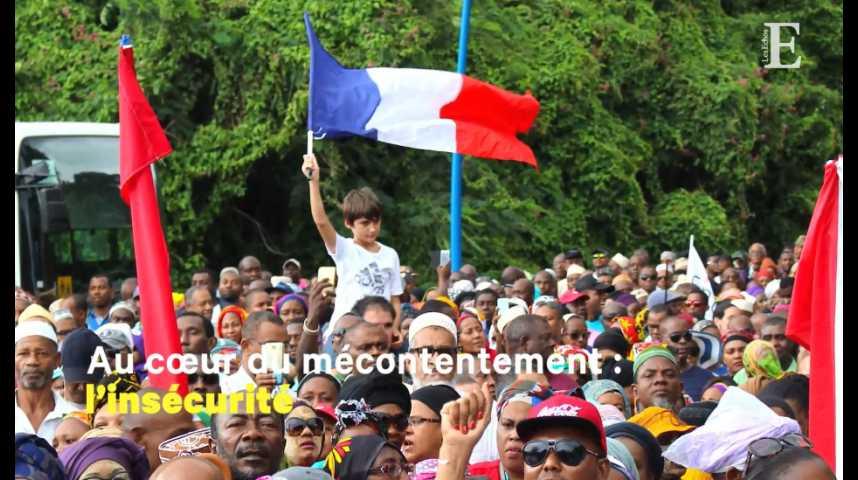 Illustration pour la vidéo Mayotte : les raisons de la colère