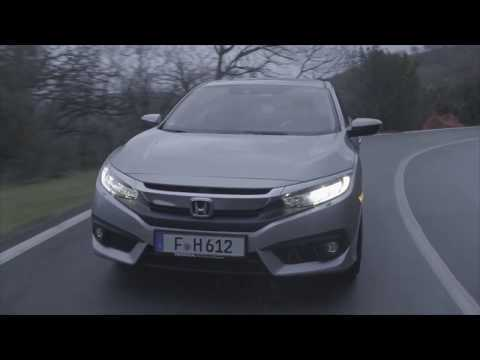 2018 Honda Civic 4 Door Driving Video