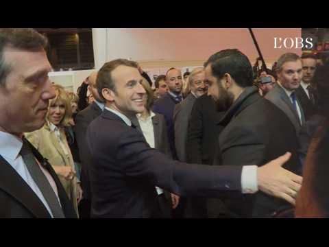 Salon du livre : Macron boycotte le stand russe