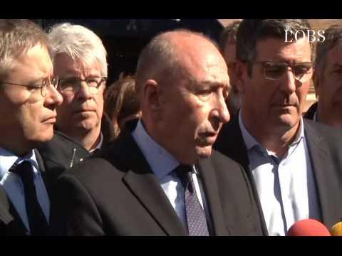 """Gérard Collomb dans l'Aude : """"Le terroriste était déjà surveillé"""""""