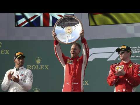 Sebastian Vettel Wins F1 Opener