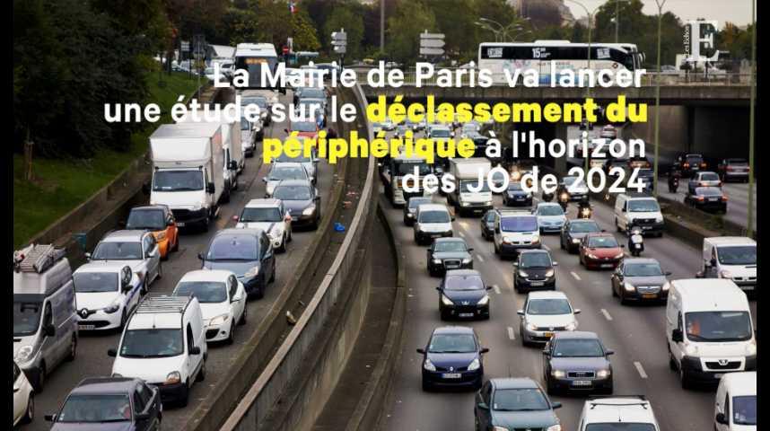 Illustration pour la vidéo Paris vise une grande transformation du périphérique