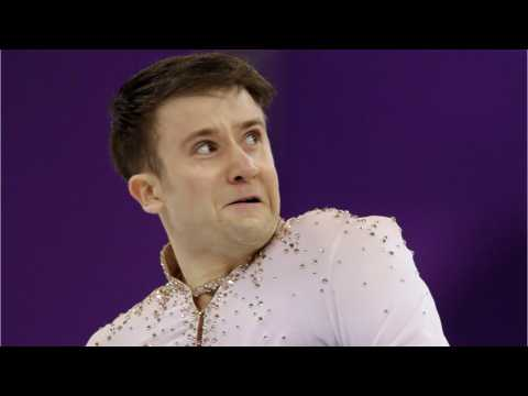 Uzbek Figure Skater Takes Epic Selfie At Olympics