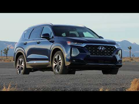 The all-new 2019 Hyundai Santa Fe Exterior Design