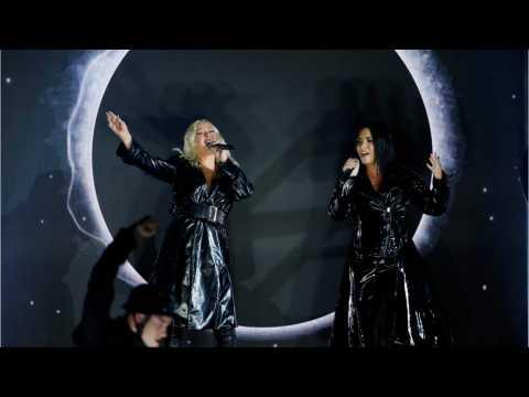 Christina Aguilera, Demi Lovato Join For New Girl-Power Song