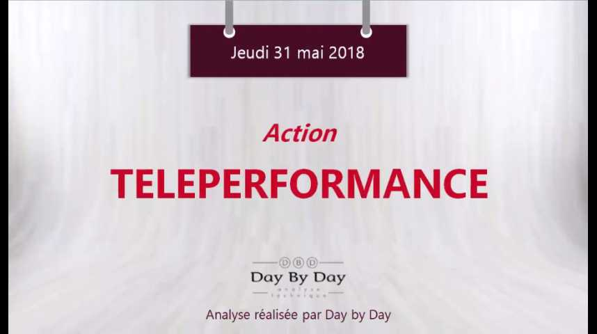 Illustration pour la vidéo Action Teleperformance - dans un canal haussier - Flash Analyse IG 31.05.2018