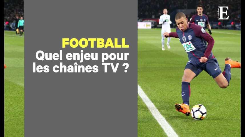 Illustration pour la vidéo Pourquoi tant de passion pour les droits TV du football ?
