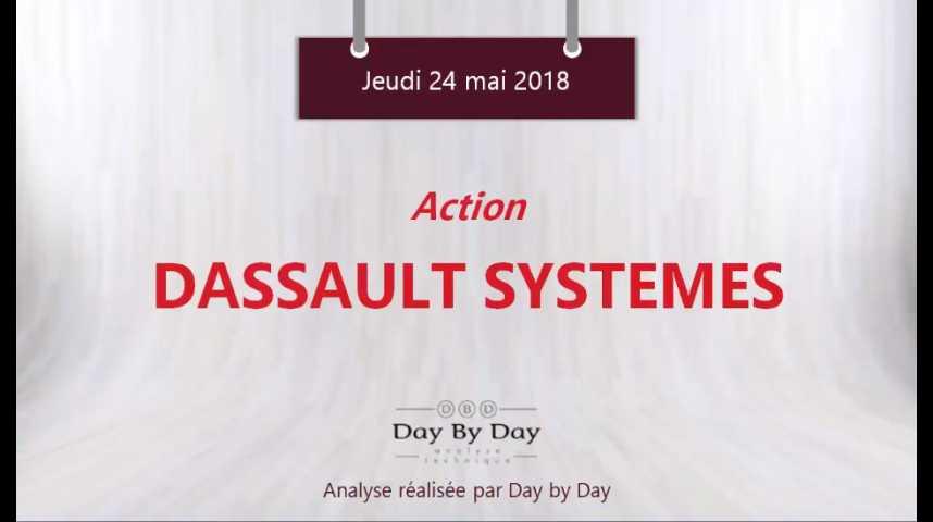 Illustration pour la vidéo Action Dassault Systèmes : l'appétit acheteur reste réel - Flash Analyse IG 24.05.2018