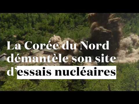La Corée du Nord démantèle son site d'essais nucléaires