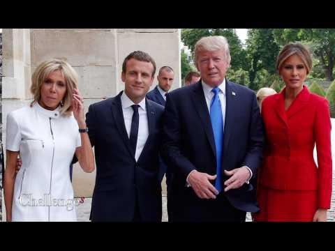 Les Invalides, l'Élysée, la Tour Eiffel... Le programme de Donald Trump à Paris.