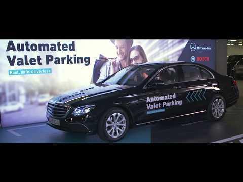 Mercedes-Benz Automated Valet Parking - Trailer | AutoMotoTV
