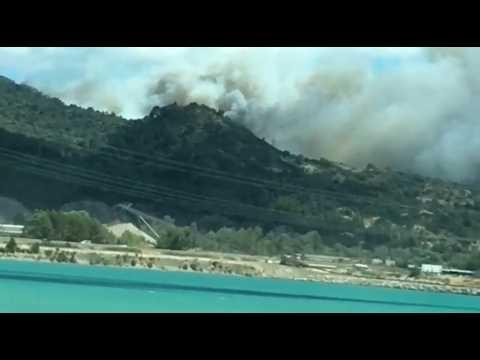 400 hectares de forêt brûlés dans le Luberon