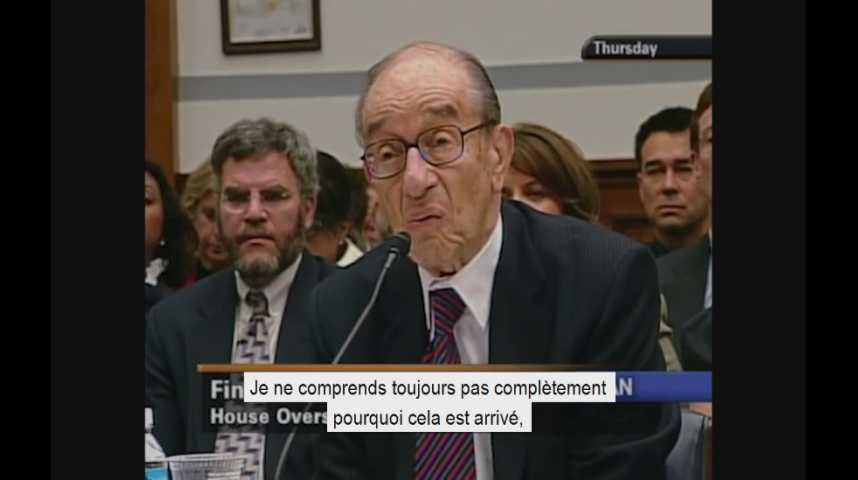 Illustration pour la vidéo Octobre 2008 : quand Alan Greenspan faisait part de son « désarroi » face à la crise des subprimes