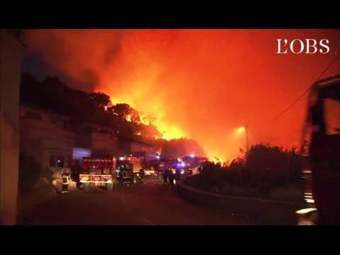 "Incendies en Haute-Corse : ""C'est une guérilla urbaine"""