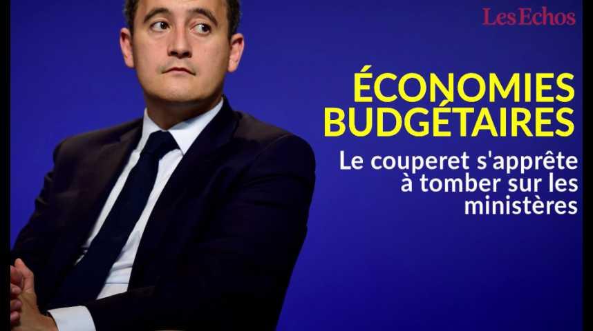 Illustration pour la vidéo Economies budgétaires : le couperet s'apprête à tomber sur les ministères