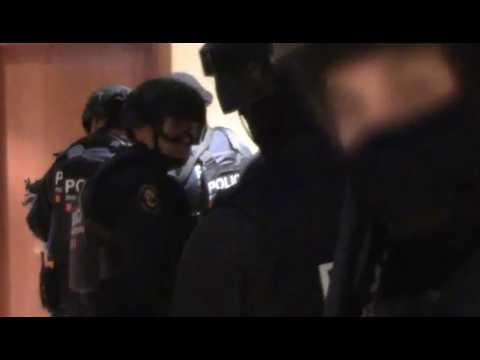 Ripoll : les images de l'assaut des appartements des terroristes de Barcelone et Cambrils
