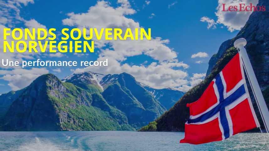 Illustration pour la vidéo Le fonds souverain norvégien affiche une performance record
