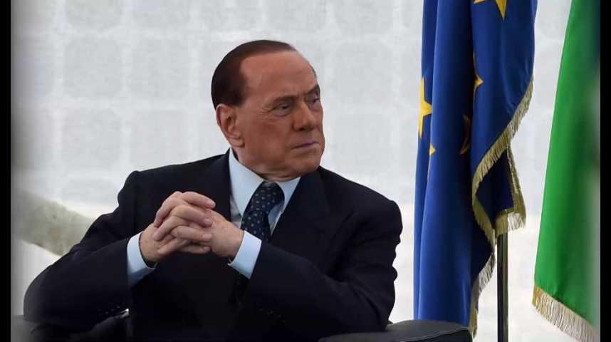 Illustration pour la vidéo Berlusconi fait de nouveau peur aux marchés