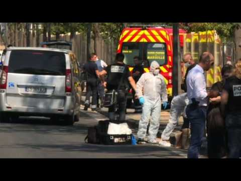 One dead after car hits people at Marseille bus stop