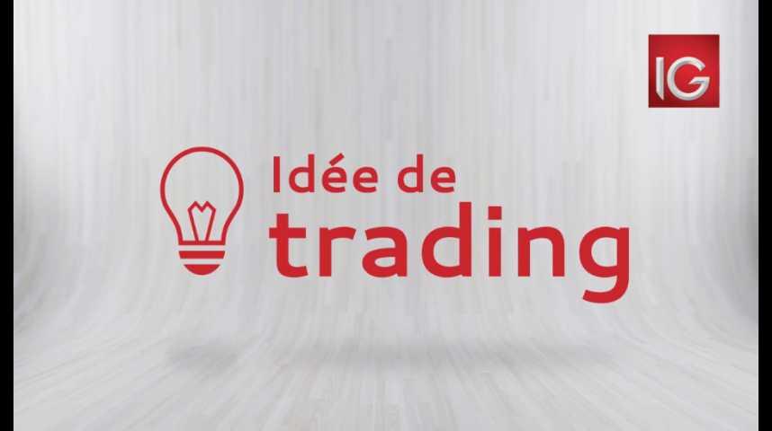 Illustration pour la vidéo Idée de trading du mercredi 2 août 2017