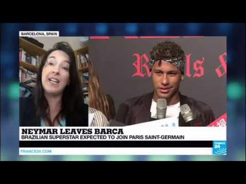Football: Brazilian superstar Neymar expected to join PSG