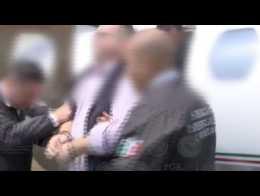 Exgobernador acusado de delincuencia organizada llega a México