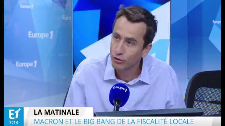 Illustration pour la vidéo Fiscalité : « Si Macron va au bout de son projet, ce sera un vrai big bang »