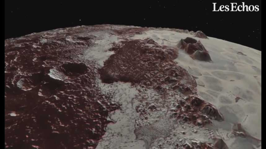 Illustration pour la vidéo La NASA dévoile de nouvelles images de Pluton