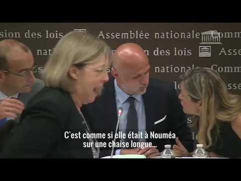 """""""Un groupe vautré, qui dort..."""" : quand une députée LREM est piégée par son micro ouvert"""