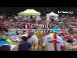 Tour de France : à Serre-Chevalier, l'ambiance de la 17e étape