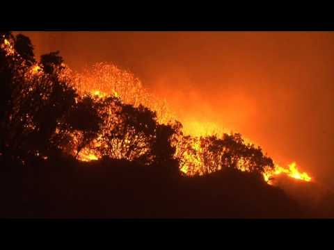 France: Firefighters continue to tackle fires in Corsica