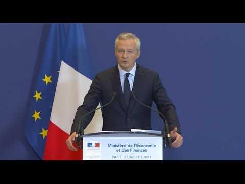 Bruno Le Maire annonce la nationalisation de STX