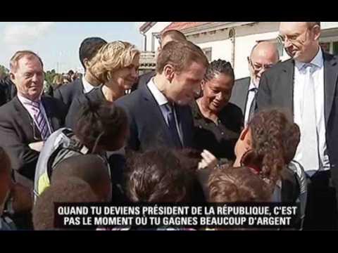 EmmanuelMacronmal payé à l'Elysée ? - ZAPPING ACTU HEBDO DU 05/08/2017