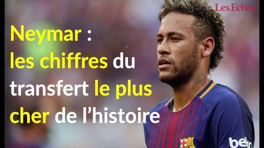 Illustration pour la vidéo Neymar : les chiffres du transfert le plus cher de l'histoire