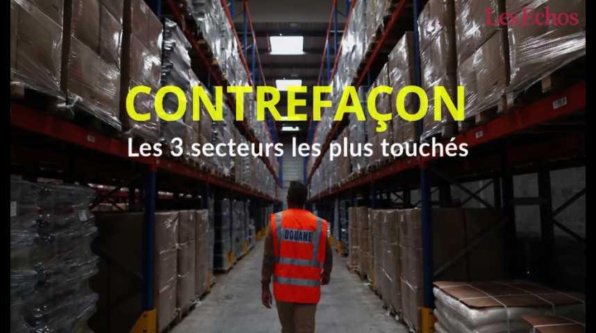 Illustration pour la vidéo Les 3 secteurs les plus touchés par la contrefaçon