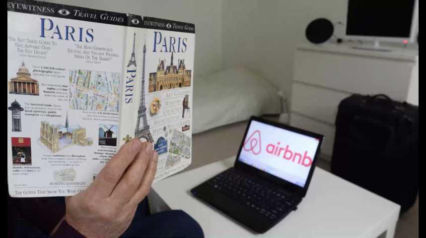 Illustration pour la vidéo Airbnb a payé moins de 100.000 euros d'impôts en France